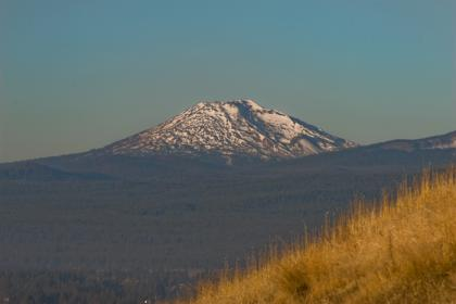 Mt. bachelor from pilot butte in bend