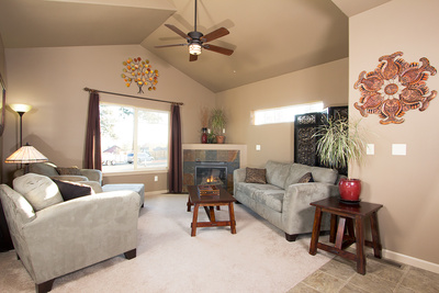 Bend real estate for sale living room