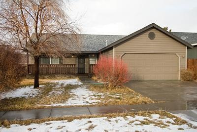 home for sale during winter in Bend Oregon