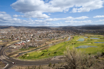 The city of prineville oregon in crook county